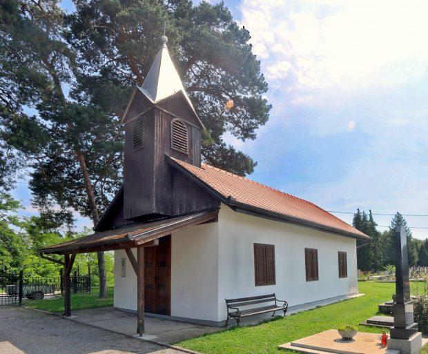 kapelica na belišćanskom groblju
